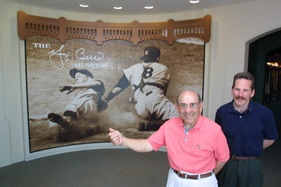 Yogi Berra and Dave Kaplan