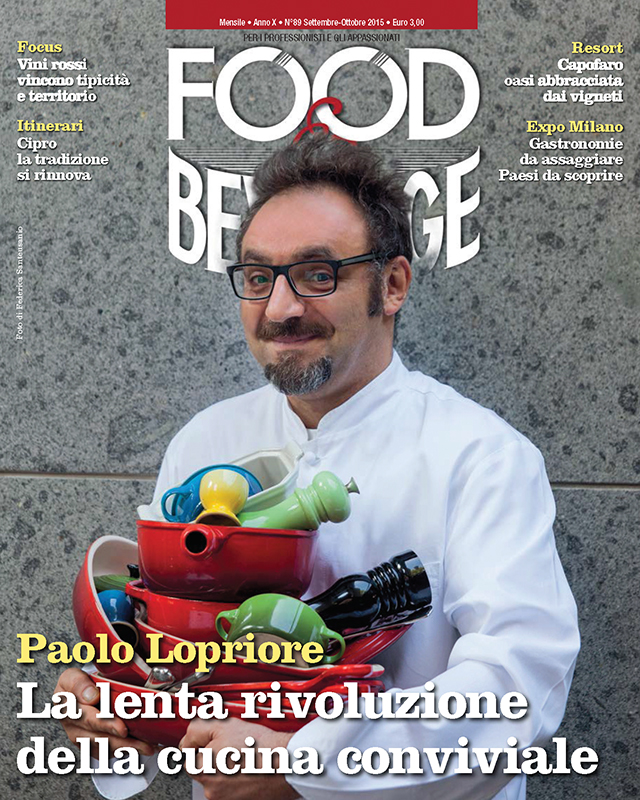 Chef Paolo Lopriore - Food&Beverage Cover