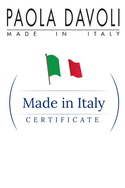 Italian fashion certificate
