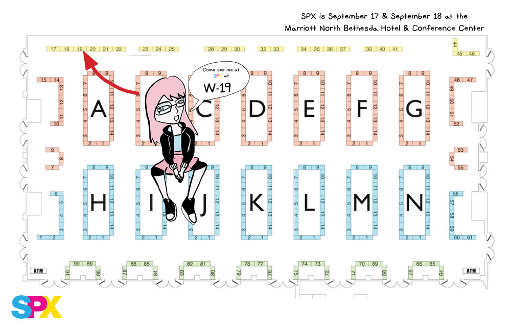 Look for me at SPX September 17 & 18.