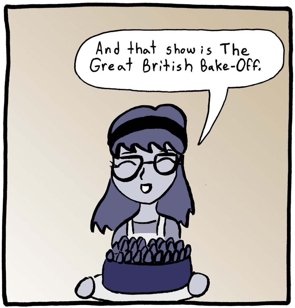 Alex Reviews Great British Bake Off