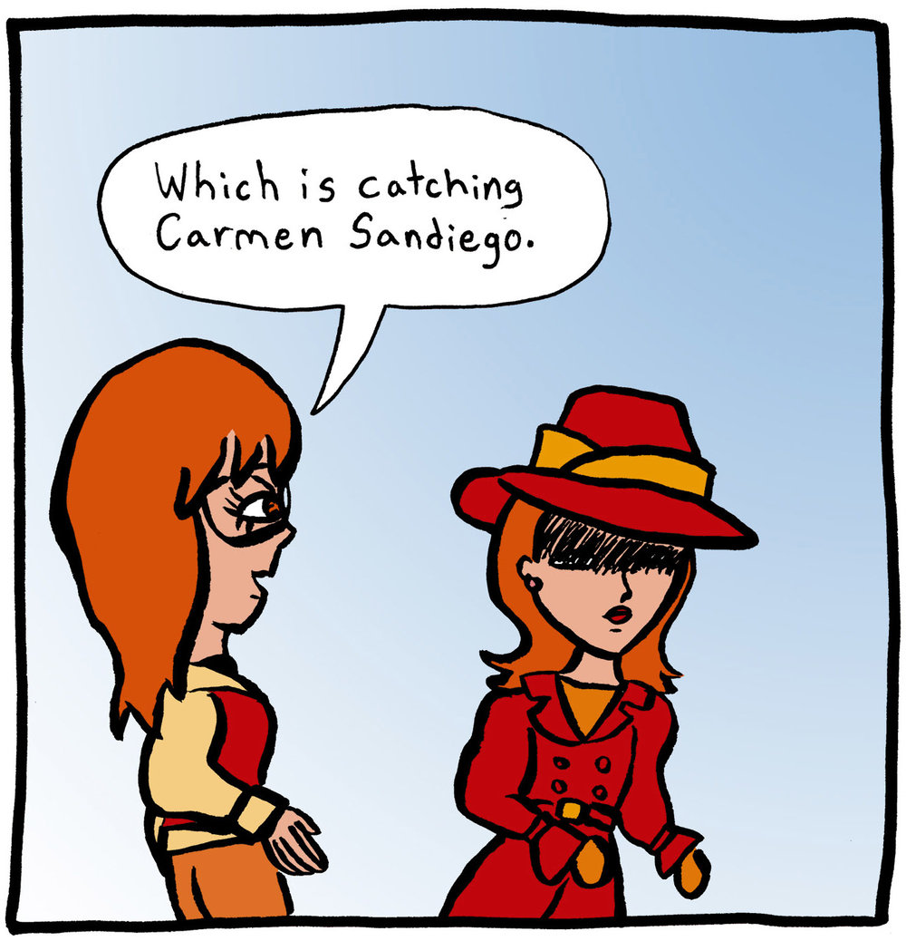 Alex Reviews Where in the World is Carmen Sandiego