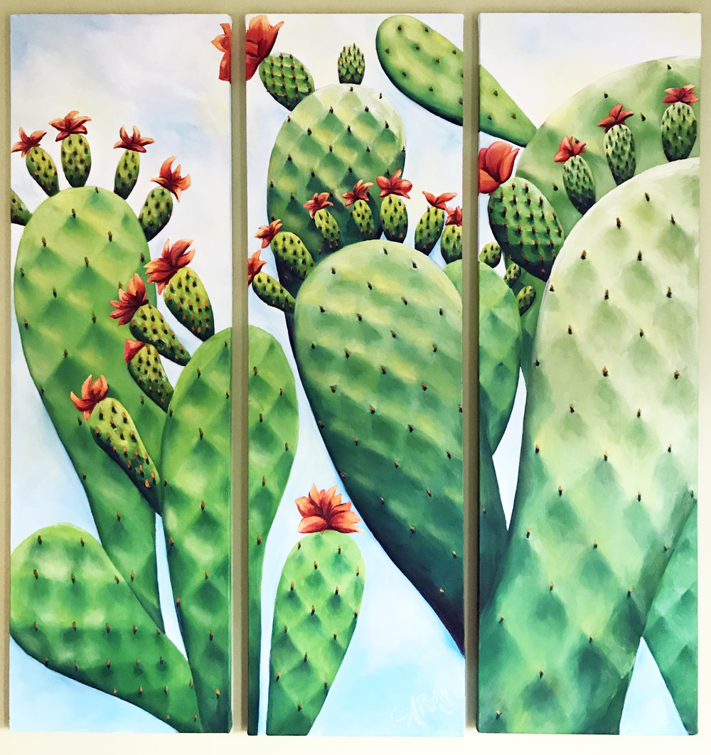 Cacti, Park Guell, Barcelona, 2001