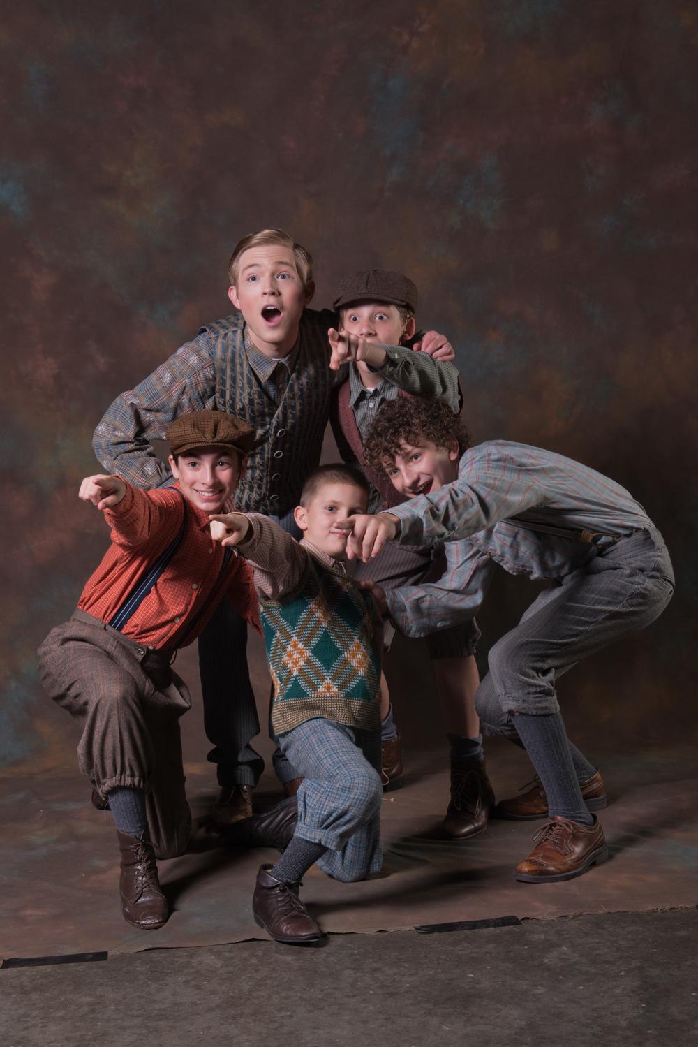 """Patrick in """"My Son Pinocchio"""" at Music Theatre Wichita"""