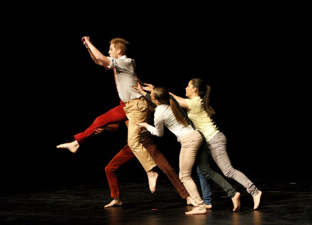 Patrick in (Re)Actions Dance Concert at the University of Kentucky