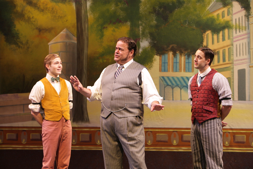 """Patrick as Barnaby in """"Hello, Dolly!"""" at Music Theatre Wichita"""