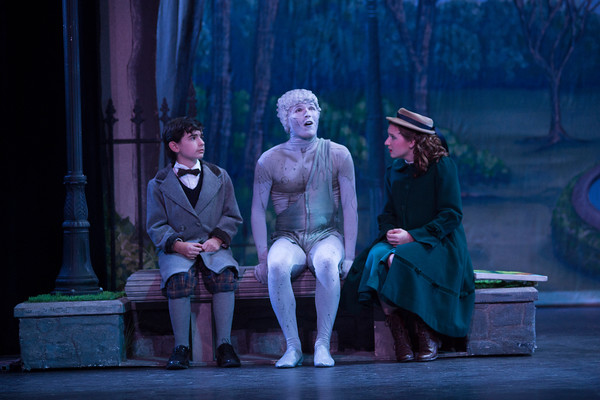 """Patrick performing as Neleus in """"Mary Poppins"""" at The Lexington Theatre Company."""