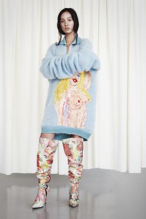 Josephine Bergqvist –Swedish Fashion Council och TEKO:s stipendiat 2015 för bästa examenskollektion vid Beckmans Designhögskola.
