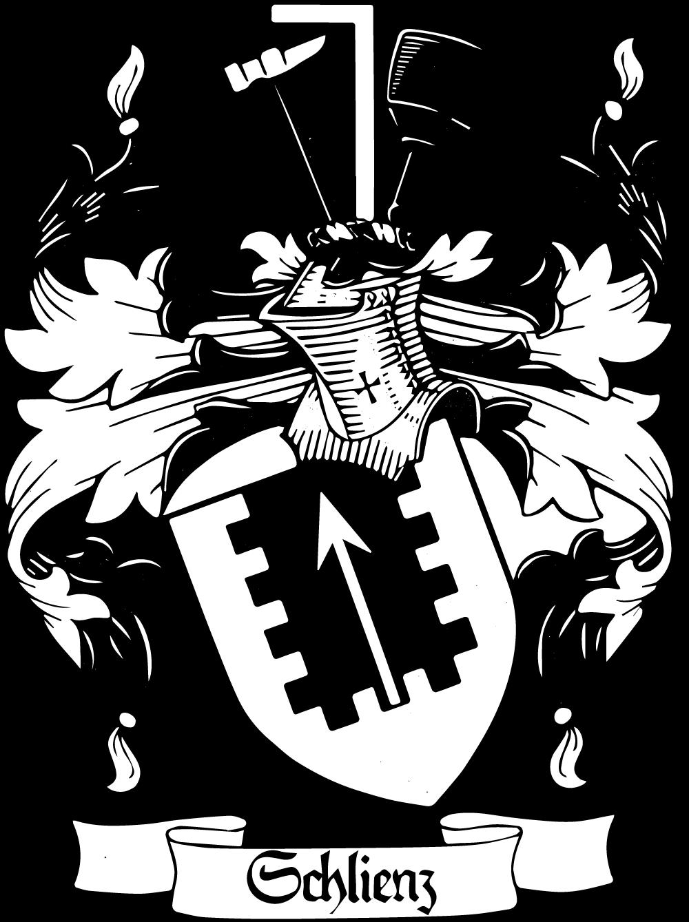 Das Wappen Schlienz aus dem Jahre 1912