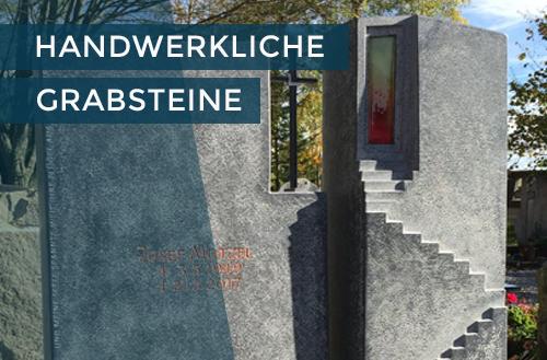Handwerkliche Grabsteine | Steinmetzstatt Schlienz - Ihr Steinmetz für´s Allgäu