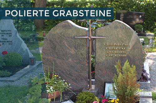 Polierte Grabsteine | Steinmetzstatt Schlienz - Ihr Steinmetz für´s Allgäu