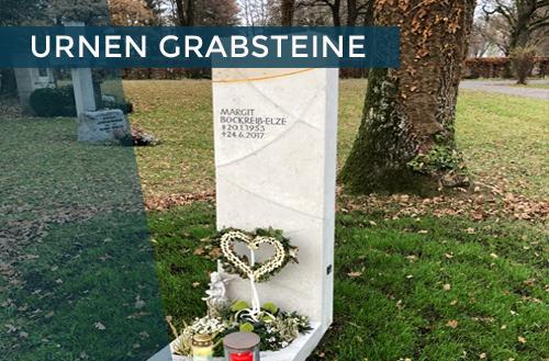 Urnen Grabsteine | Steinmetzstatt Schlienz - Ihr Steinmetz für´s Allgäu