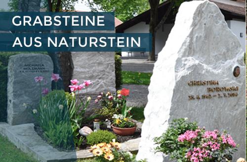 Grabsteine aus Naturstein | Steinmetzstatt Schlienz - Ihr Steinmetz für´s Allgäu