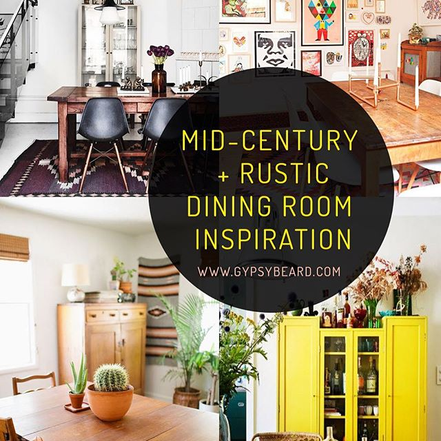 On the blog today: Mid-century + Rustic Dining Room Inspiration! I'm sharing what I'm day dreaming about for my dining room revamp. Go check it out: www.blog.gypsybeard.com. . . . #Vintage #vintagestyle #etsy #vintageshop #retro #boho #hippie #pinup #gypsy #vintagefashion #texas #texasfashion #dallastx #greenvilletx #rockwalltx #tylertx #inspiration #diningroom #homedecor #furniture #farmhouse #industrial #rustic #midcentury #decor