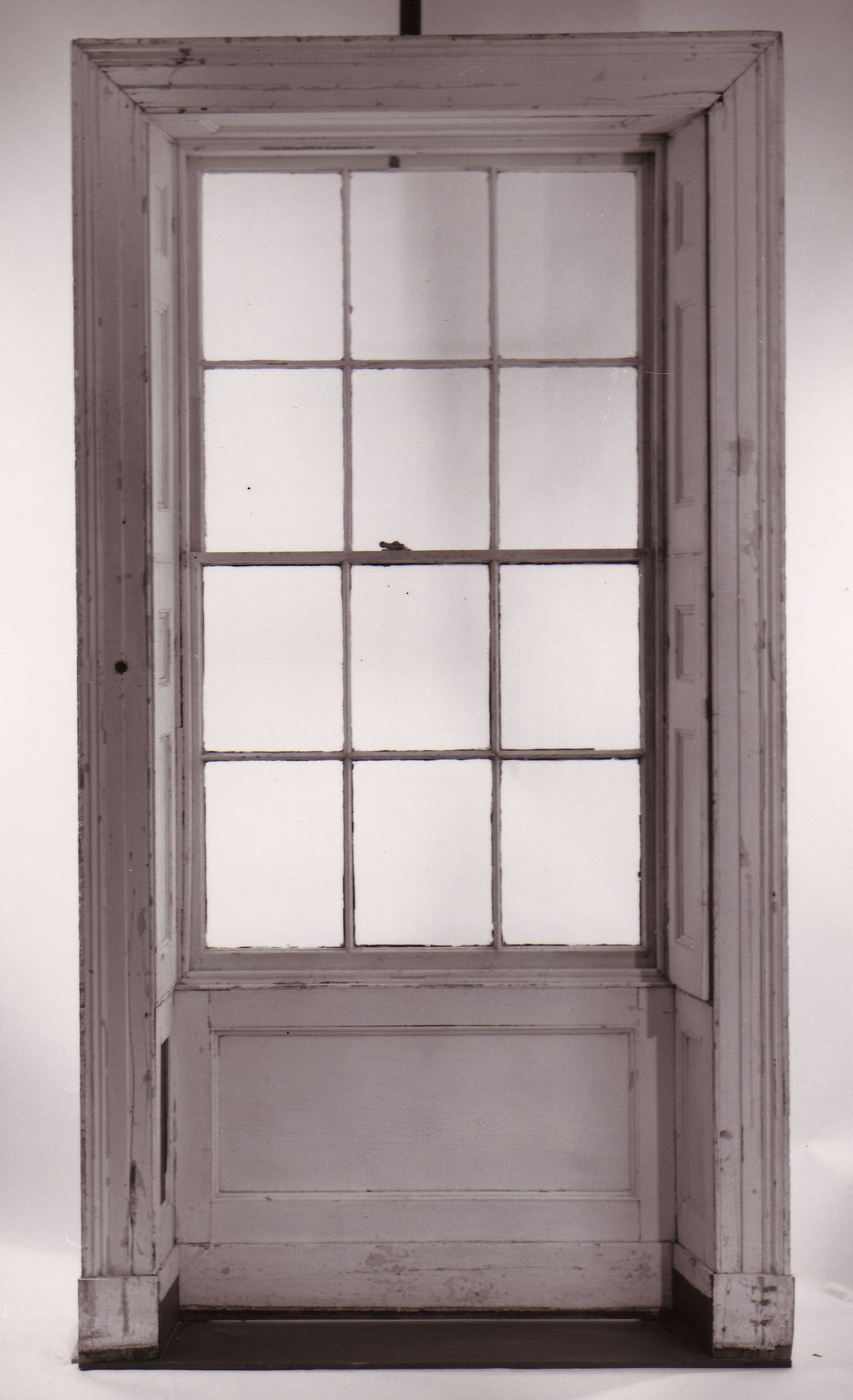 Interior window frames - 1820s Concealed Interior Window Shutter
