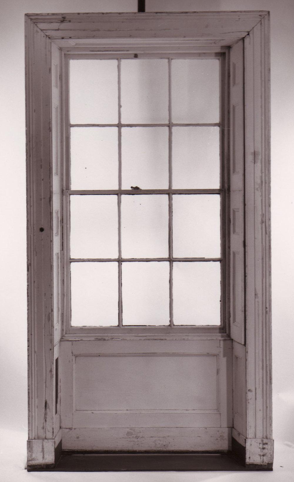 1820s Concealed Interior Window Shutter