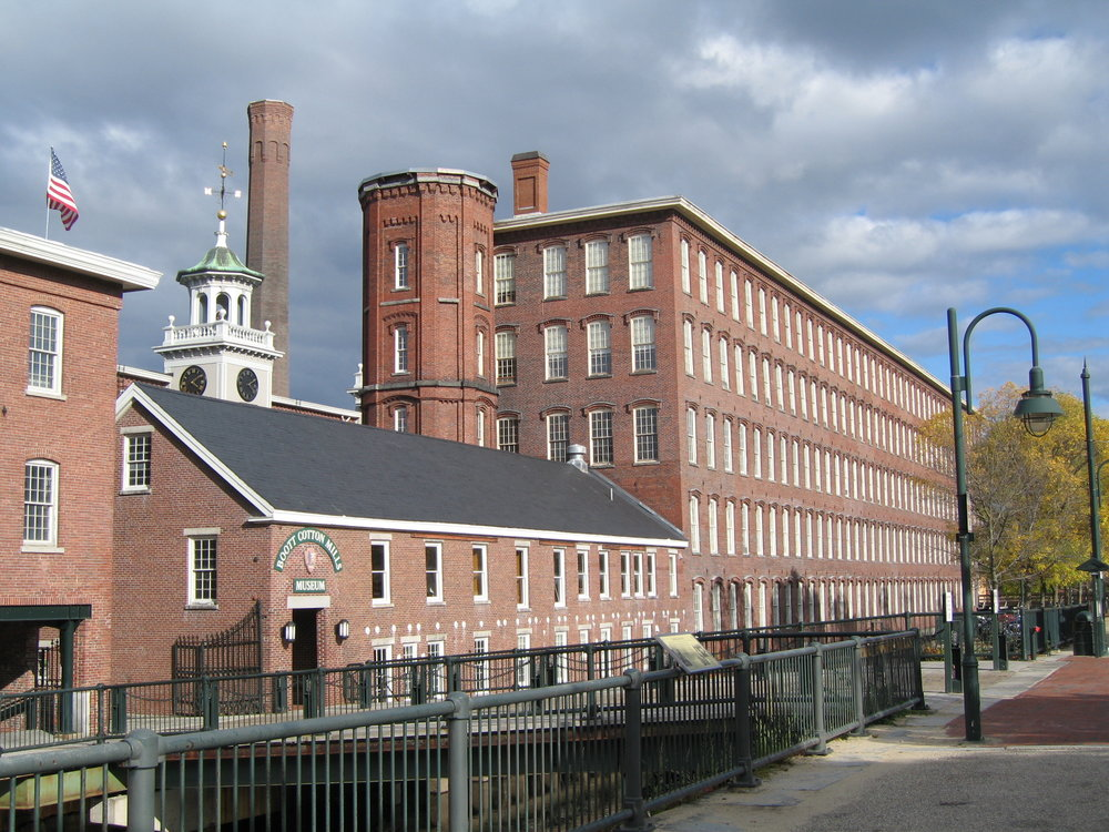 Boott Cotton Mill in Lowell, Massachusetts, 2006