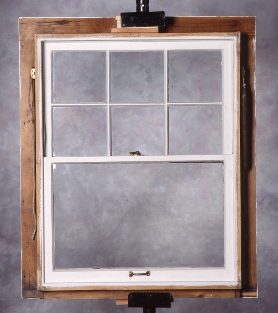 Twentieth century historic preservation education foundation for 1920s window