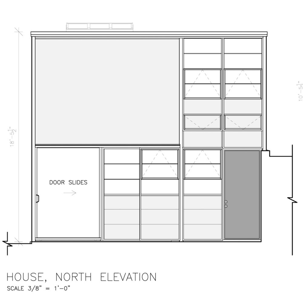 Eames House HABS-Level Documentation Project on Library of ...  Eames House HAB...