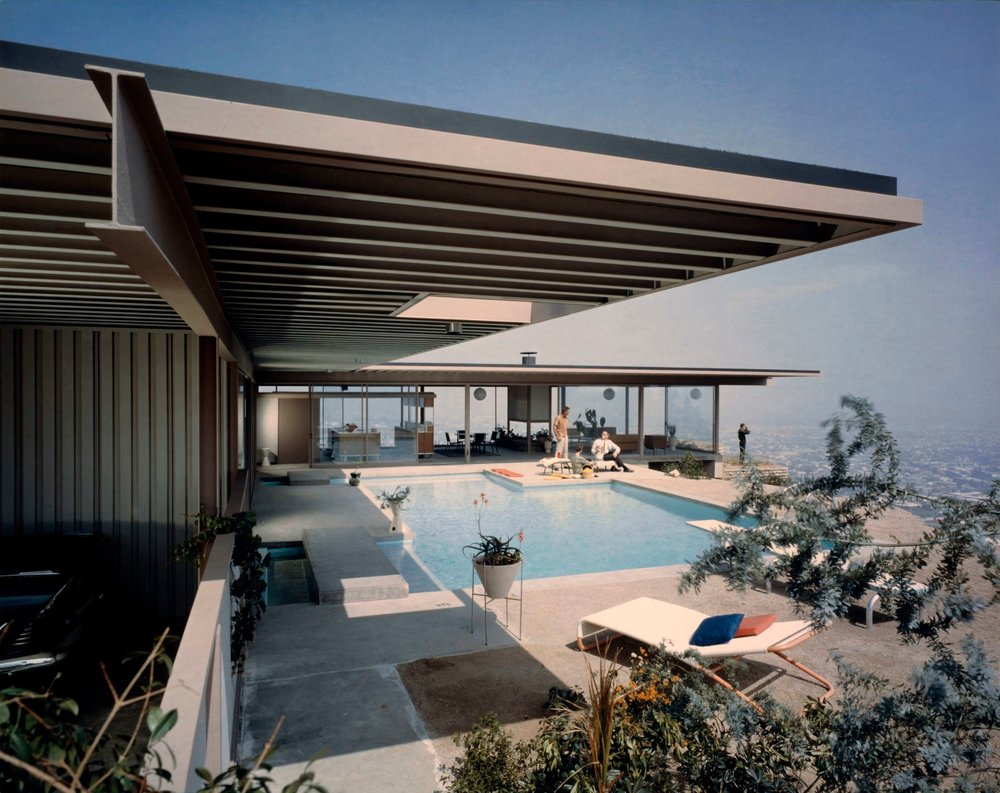 Stahl House (Case Study House #22), Pierre Koenig, Los Angeles, 1960. Photo: © J. Paul Getty Trust. Getty Research Institute, Los Angeles