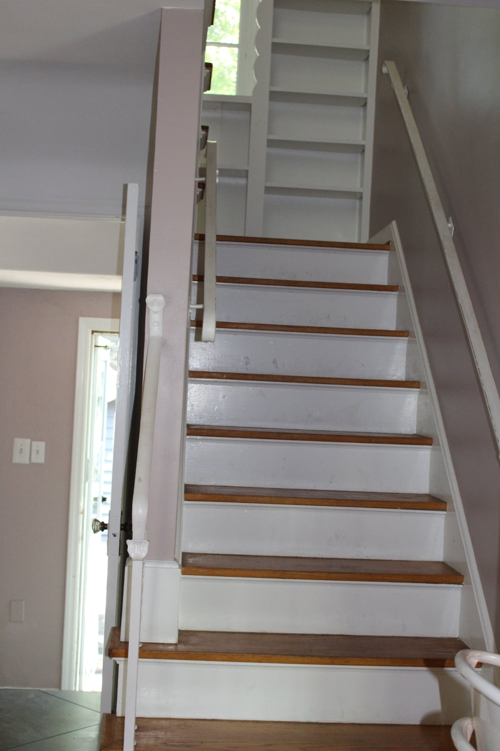 Hallway and stairs.