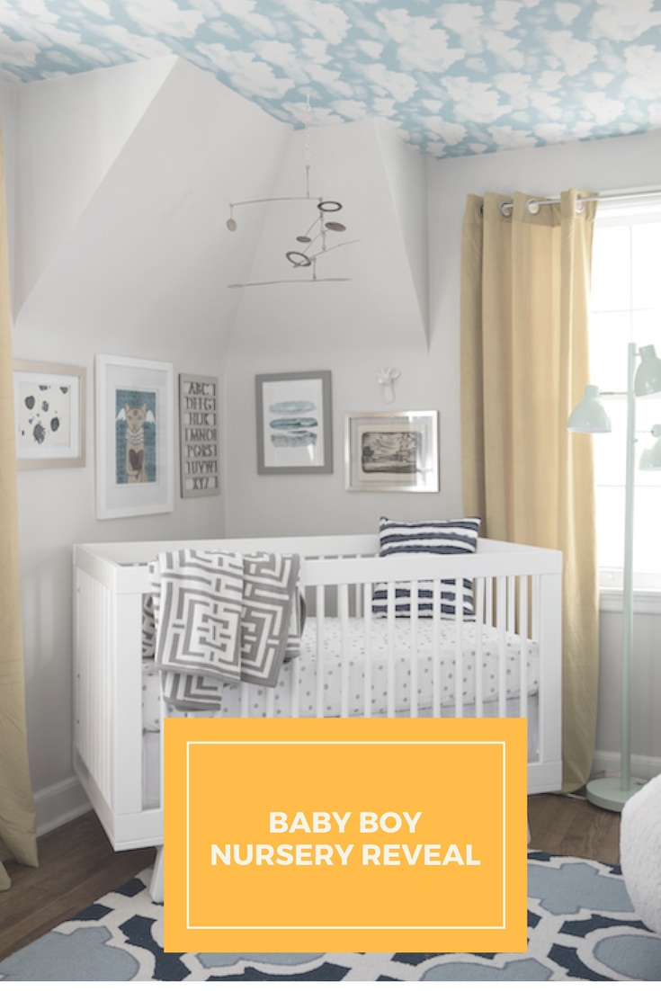 Baby Boy Nursery Reveal