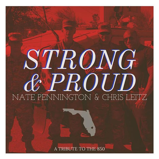 RELEASE DAY: This was such a fun track to work on. Written and performed by, @chrisleitz84 & @n8pennington - all the proceeds from this song will go to help relief efforts in Panama City, following Hurricane Michael. Honored to have produced, mixed, and mastered this one.  A special thanks to #benlowrimore and @benkimsal for holding down bass and guitar.