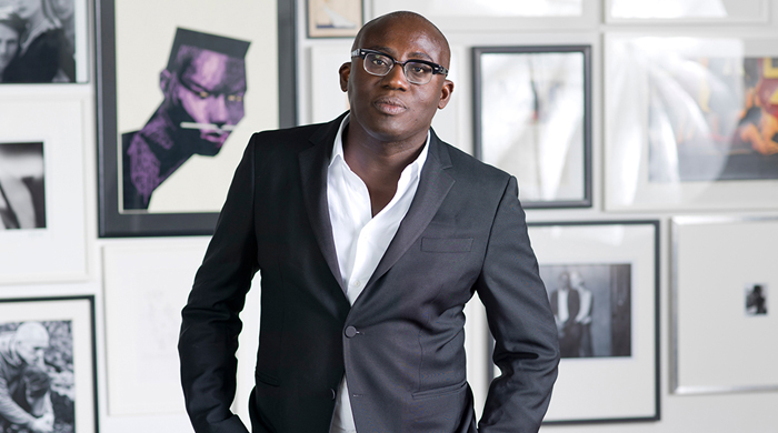 Edward Enninful is the first male and first black Editor of British Vogue in its 100-year-history Credit: Giorgio Niro