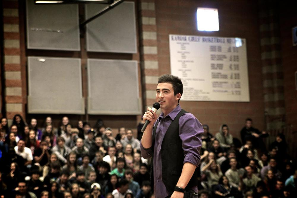 Kamiak High School. 10.11.2011. 2,076 Students.