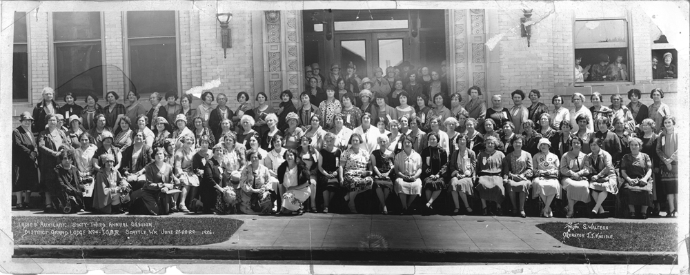B'nai B'rith Ladies' Auxiliary, Seattle, WA, June 1926