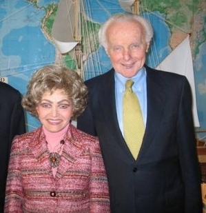 Tom and Annette Lantos in 2009.