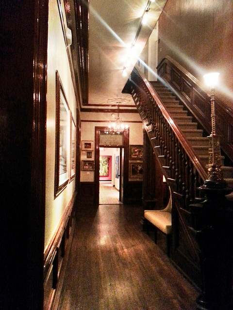 Interior of the main house at La Posada.  Photo by Ron Coleman via Flickr.