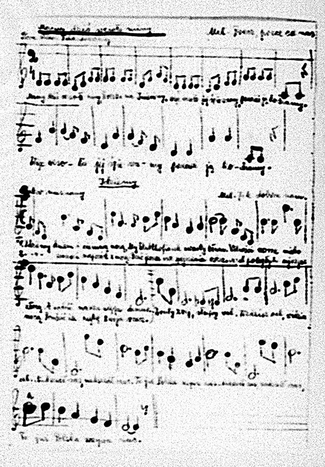 A composition by Waleria Anna Felchnerowska (Piecach/Starogard Gdański, Poland 3.11.1902 – 1984). Image courtesy Last Musik.