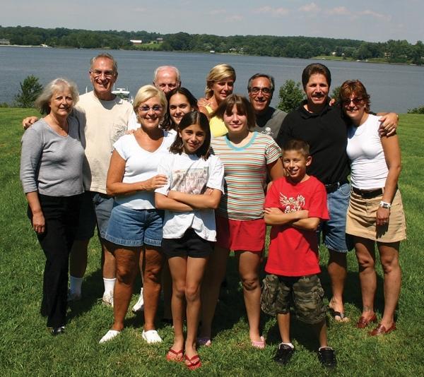 Joanie and the Margolius family