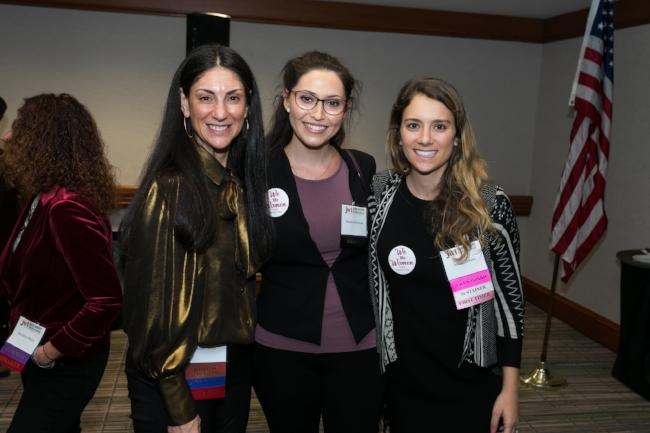 Ellen Stone (left), EVP marketing, Bravo and Oxygen Media