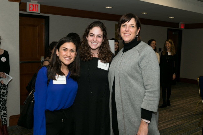 Nicky Goren (right), president and CEO of the Eugene and Agnes E. Meyer Foundation