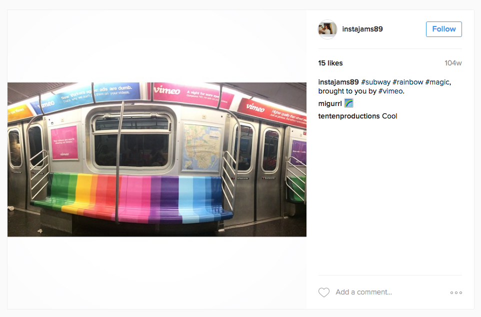 Hundreds of people shared photos of the wrap and interior on Instagram, Twitter, Facebook, and more.