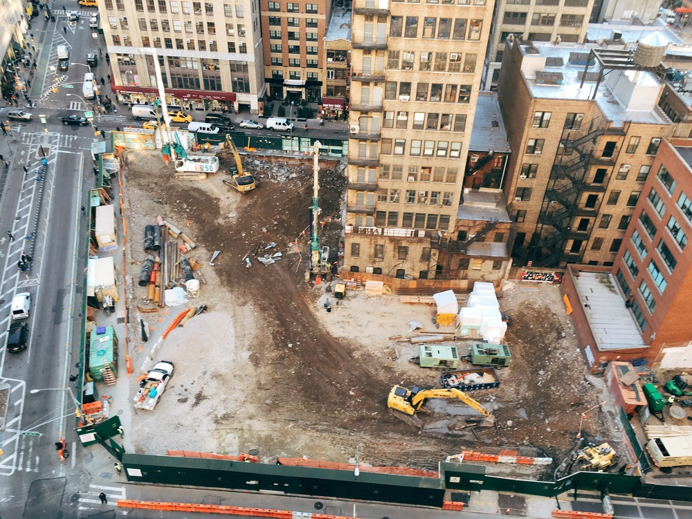 The future site of Virgin Hotel