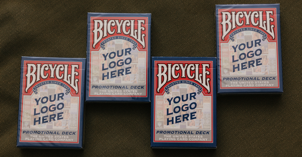 Bicycle 'YOUR LOGO HERE' promotional deck