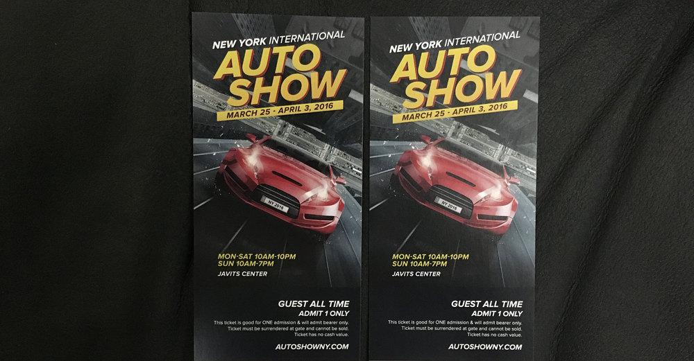 New York International Auto Show Doobybraincom - Ny car show tickets