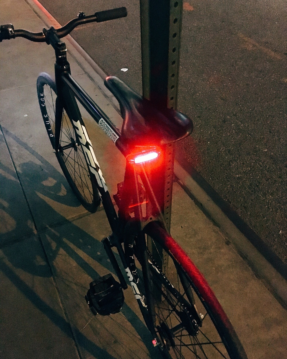 Blitzu rear bicycle light review — Doobybrain.com