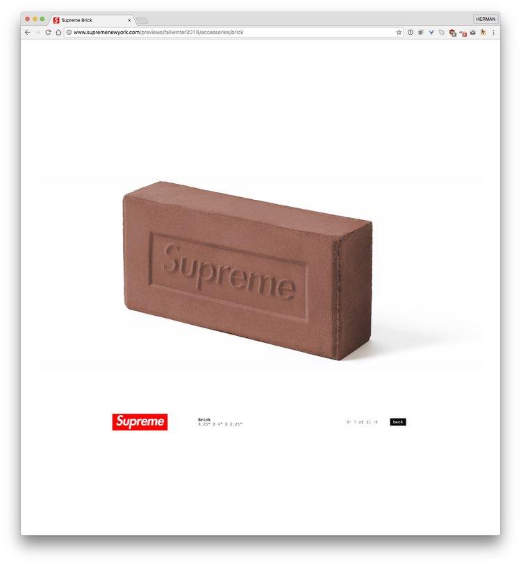 SUPREME Brick Doobybrain