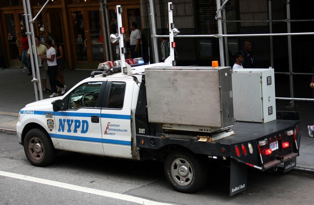 This photo is not confirmed to be one of the X-Ray vehicles from the NYPD