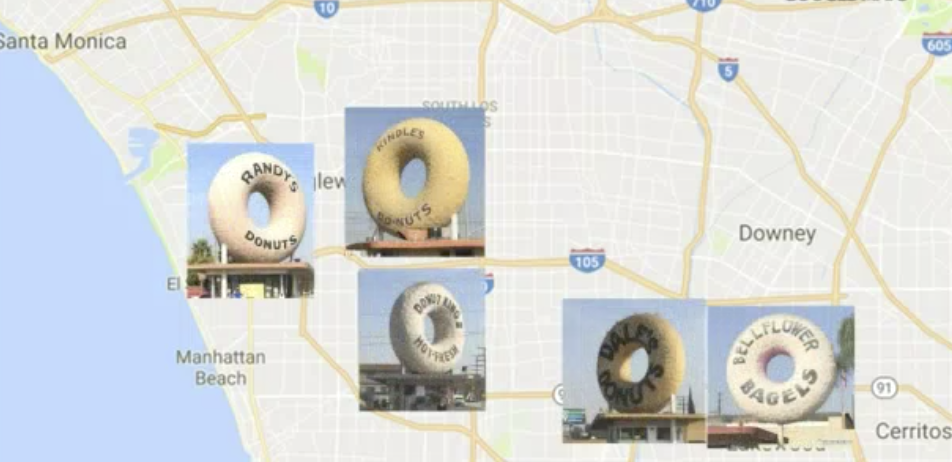 5 Giant Donuts in LA -