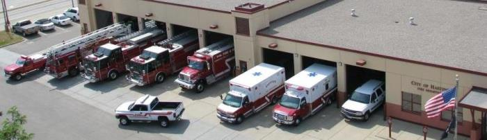 Hastings, MN combined Fire and EMS station.