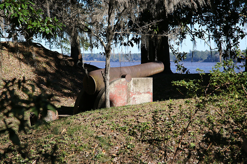Take a relaxing stroll through the grounds of Battery White at Belle Isle and see what the men stationed there saw when they looked across Winyah Bay at enemy ships approaching Georgetown. See the mini-museum with artifacts from Belle Isle Gardens and Battery White. Bring your boxed lunch and eat on our screened porch at the Belle Isle Yacht Club ( proceeds from sale of soft drinks and water benefit Prince George Winyah Episcopal Church), or order lunch at the Belle Isle Marina Grill.