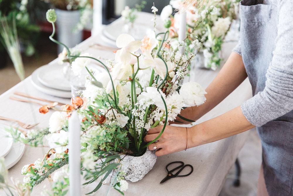 Milieu Florals Centerpiece
