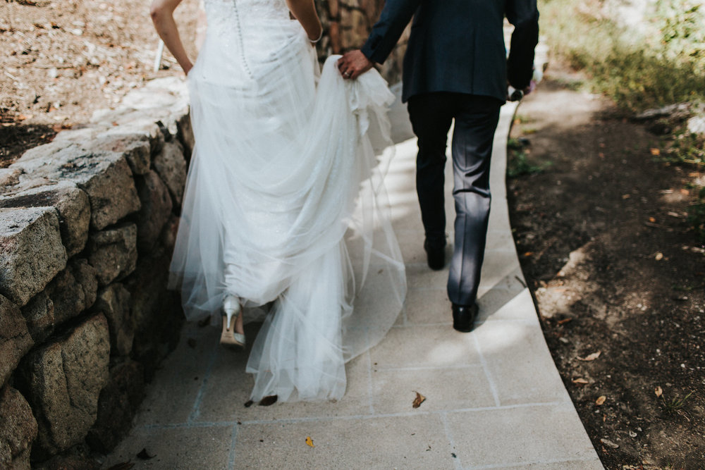 Greystone Mansion 5  walking Wedding Photography Joy Theory Co Los Angeles Wedding Photographer
