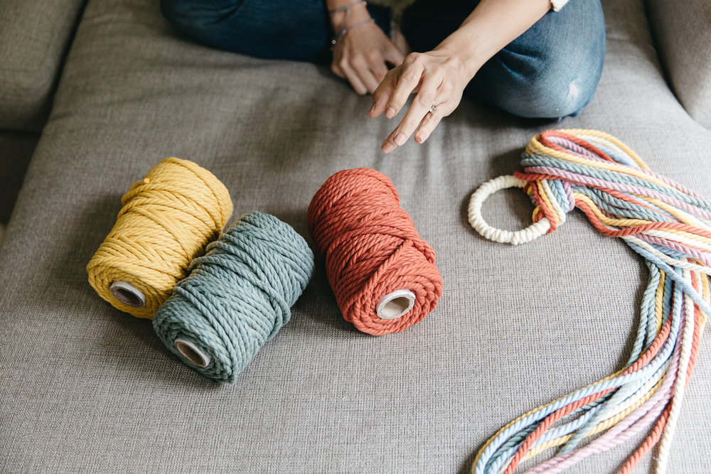 Yarn Modern Macrame Artist Elsie Goodwin Reform Fibers Hands On Collective by Joy Theory Co Orange County Photographer