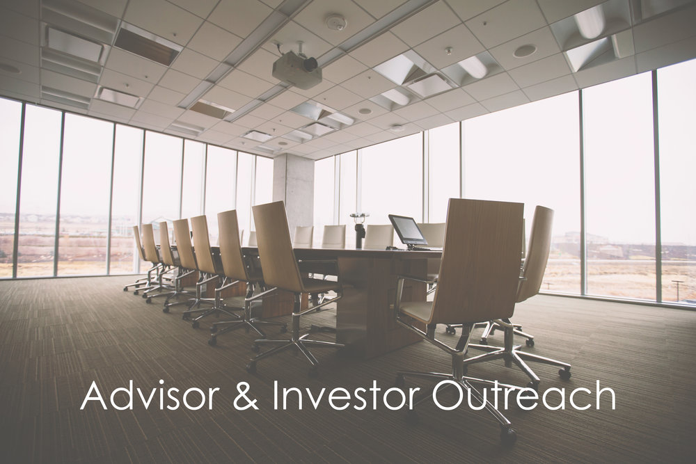 Advisor & Investor outreach program   – Ongoing and Continuous outreach to prospects by our team across Canada and the U.S.   – Customized sales and marketing approach to best serve our clients needs   – DISTRIBUTION OF ALL MATERIALS TO OUR DATABASE OF INVESTMENT PROFESSIONALS   – Quarterly Reporting and analytics